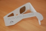 3D glasses, Wolfsburg, 2009