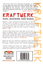 Kraftwerk: Man, Machine and Music, picture of back, UK second edition